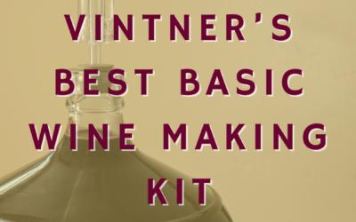 Vintner's Best Basic Wine Making Kit
