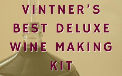 Vintner's Best Deluxe Wine Making Kit